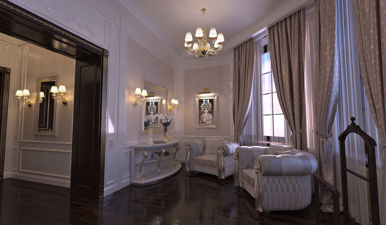 Luxury and Glamour Bedroom Interior Design in Art Deco style image04